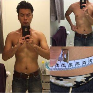 ダイエット 1ヶ月目